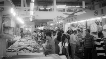 Little India's fish market.