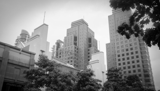Downtown.