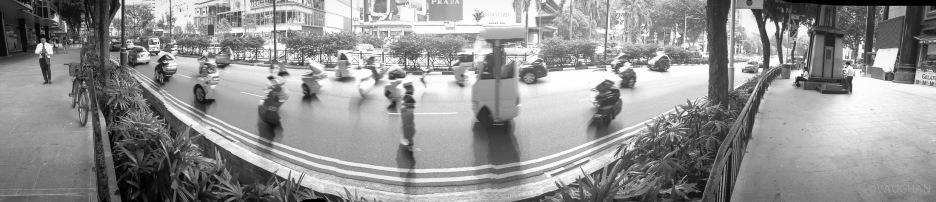 Traffic pano.