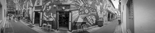 Alley Murals.