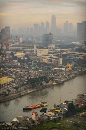 Smoggy Sunset, Manila.