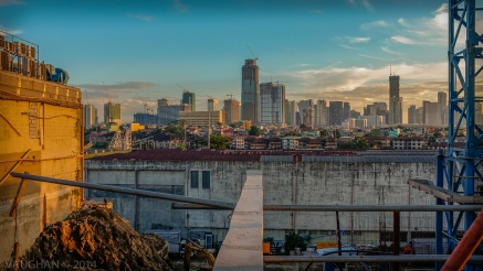 Searching for serenity and balance in a mad city. Manila