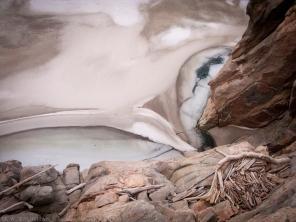 Frozen Reservoir, Buffalo Bill Res. Cody, WY